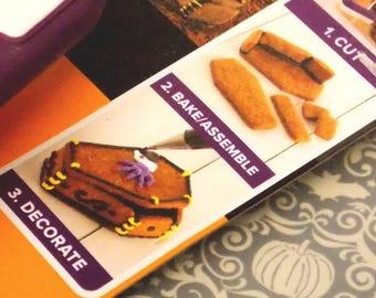 3D Coffin Cookie Cutter, Bradshaw 3-D Casket Cookie Cutter