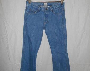 Closing Shop 40%off SALE Vintage 90's Minimalist Ck Calvin Klein  Blue Jean pants size 5  ladies womens women