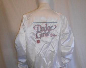 Closing Shop 40%off SALE Dodge Girls have more fun satin jacket