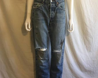 Closing Shop 40%off SALE 90s Levis jeans 501 button fly 501 Levis Waist  W 29