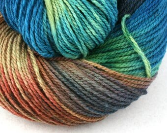 Mohonk Hand Dyed sport weight NYS Wool 370 yds 4oz Fakahatchee