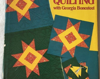 SALE - Lap Quilting - With Georgia Bonesteel - From Oxmoor House - 1982 - 4.50 Dollars