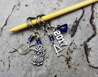 Spring 2017 Term - House Cup Harry Potter Non-Snag Stitch Markers