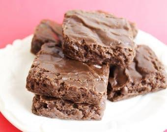 Brownie Soap - Chocolate Soap, Dessert Soap, Soap Favors, Fake Food Soap, Soap Favors, Kids Soap, Bakery Soap, Bath, Brownies, Cake Soap