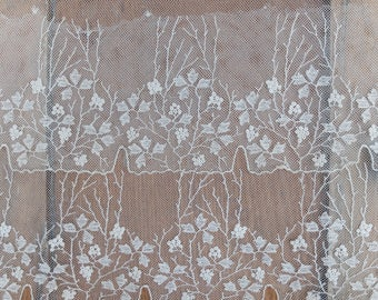 Wide Vintage Lace Lingerie Trim 1 Yard