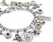 Mad Hatter Bracelet from Alice in Wonderland Tea Party handcrafted in stainless steel