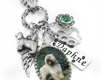 Pet Jewelry, Silver Pet Necklace, Pet Pendant, Customized Pet Necklace with Photo, Cat Necklace, Dog Necklace