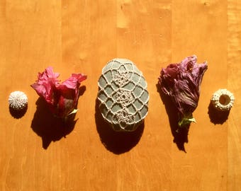 Crochet Meditation Stone #204