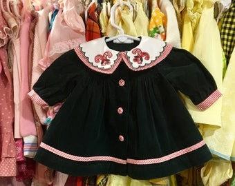Candy Cane Dress 3/6 Months