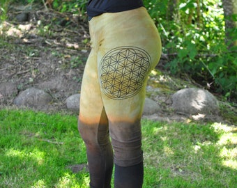 Womens Pants - Organic Pants - Boho Pants - Yoga Pants - Hippie Pants - Gypsy Pants - Hand Dyed Pants -Limited Edition