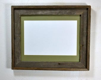 8x12 matted picture frame 11x14 without mat from eco friendly wood Made in the USA