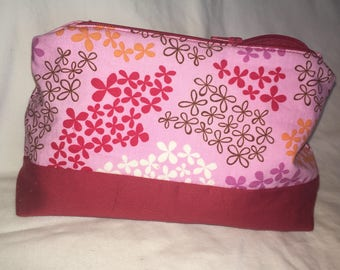 Lilac & Red Essential Oil Travel Case