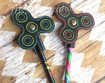 Spinner Pencil Tops - Fidget Topper Kids School Supplies Toy - READY TO SHIP