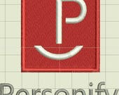 Personify Custom Digitized Embroidery Designs (private listing)