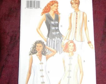 Christmas in July Butterick Misses Top Pattern N3456 Dated 1994 Sizes 6 thru 10 and 12 Uncut