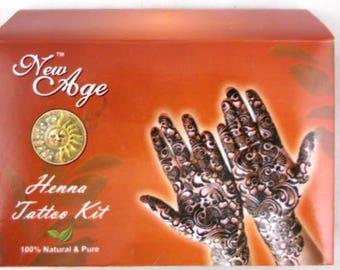 New Age Henna Tattoo Kit - Bargain - Regularly 9.95