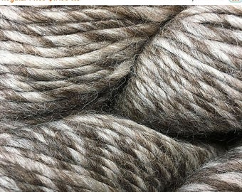 ON SALE Sable Eco Duo Alpaca Merino Wool Yarn Worsted Weight 197 Yards Color 1715