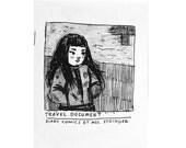 Travel Document zine - autobiographical comics