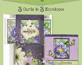 Peek-A-Boo Die-Cut Cards (3-Pack) by Hot Off The Press