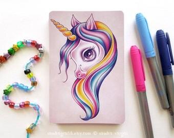 Candy Pop Unicorn - Fantasy 4 x 6 Postcard Postcrossing Snail Mail