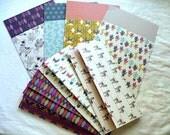 Planner Inserts, Envelopes, Cash Envelopes, Planner Accessories, A5 Planner Inserts, Happy Planner Inserts, Day Planner Inserts