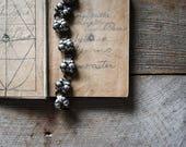 Vintage Sterling Silver Bracelet, Sterling Bracelet, Mexican Sterling, Silver Bracelet, Women's Jewelry, Antique Sterling Bracelet,