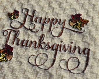 Happy Thanksgiving Towel