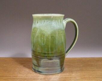 Big ol' Handmade Mug , 28 oz, Tankard Style, Pottery Mug , Stein,  Coffee Mug , Beer Mug , Tea Mug , Ceramic Mug