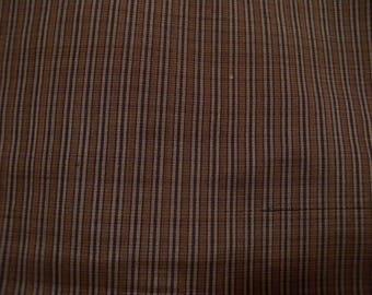 Vintage kimono S1015, brown, silk