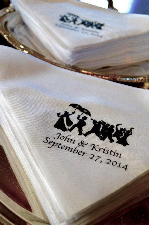 2nd line parade new orleans wedding invitations