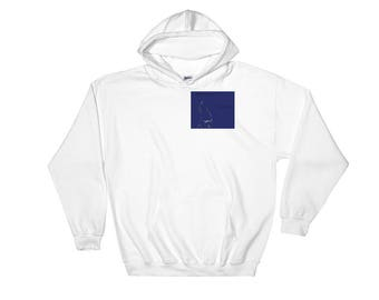 Hooded Sweatshirt with jasperwolfwolf logo