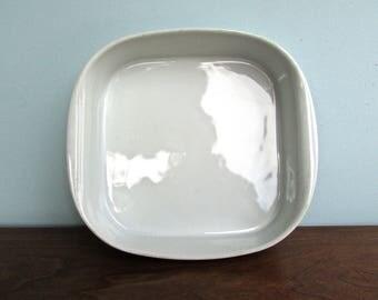 Schmidt Brasil Vintage Modern Porcelain Baking Dish, MCM Brazil