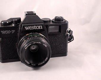 Weston WX-7 Plastic 35mm film camera