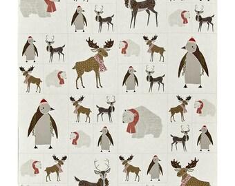 Moda Fabrics Merrily Critters Galore Animal Panel