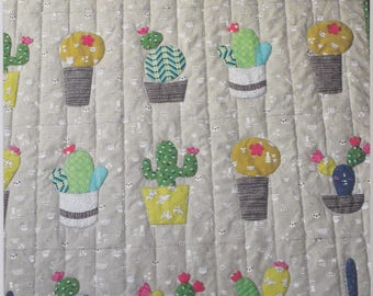 Cabbage Rose Baby Cactus Quilt Pattern