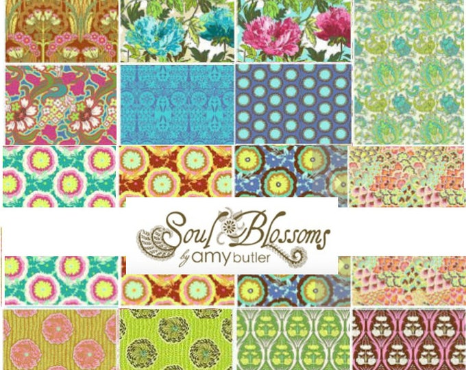 Soul Blossoms by Amy Butler - Fat quarter bundle of 15