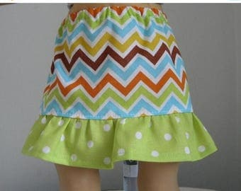 20% off Eclipse Sale Made For American Girl Dolls,  Cheveron Skirt  Fits  AMERICAN GIRL DOLLS