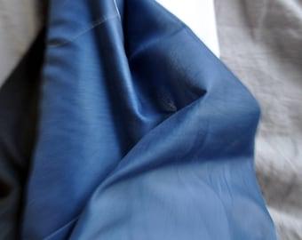 Cotton voilé in beautiful blue