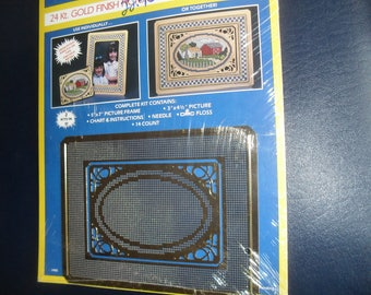 24Kt Gold Finish Picture Gold Frame or your Needlework and Pictures