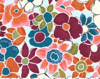 Michael Miller Fabric Garden Carpet in Sky 1/2 Yard by Laura Gunn