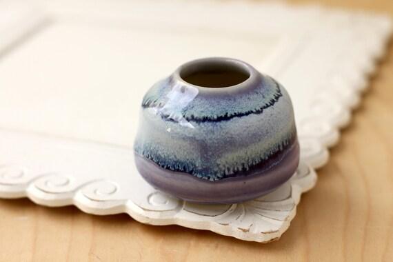 purple bud vase