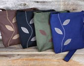 Eco-Friendly Little Darling Cross Body Purse with Wandering Vine - Made to Order - Free Shipping