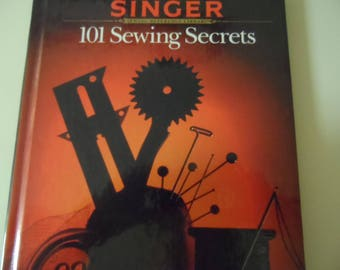Singer 101 Sewing Secrets Book 1989