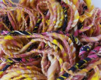 Congolaise: art yarn handspun