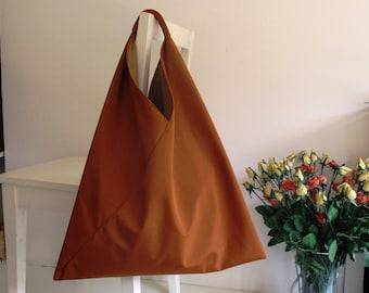 Ginger Japanese Bento Slouchy Shoulder Bag