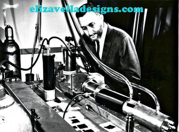laser experiment science old photograph printable wall art digital download image graphics home living room bedroom office decor