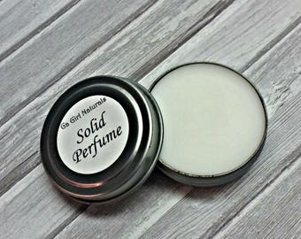 Tobacco Vanilla TYPE Handmade Natural Solid Perfume, Perfume, Solid Fragrance, Perfume Balm