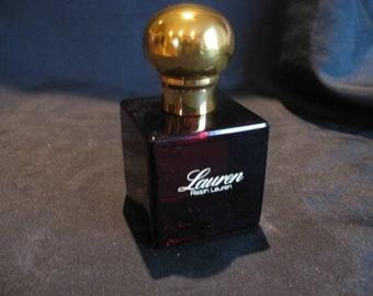 Vintage Lauren By Ralph Lauren Perfume EDT Full 2 Oz. Spray
