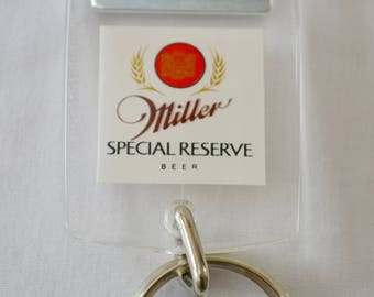 Vintage MILLER Special Reserve BEER bottle opener 1970's 80's