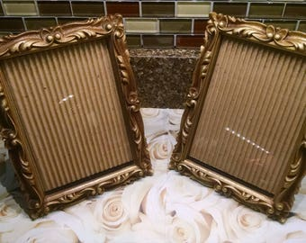 2 picture frames 5x7 picture frames frames plastic frames syroco like